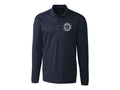Picture of  Polyester long sleeve polo - Unisex