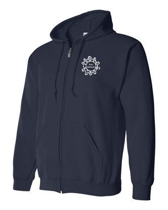 Picture of Full-Zip Hooded Sweatshirt  - Unisex